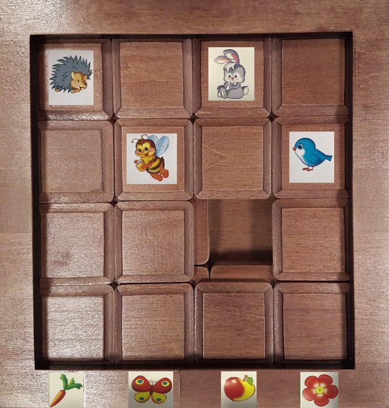 дополнительный набор для развивающей игры КВАДРАШКА